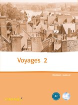 Boek cover Voyages 2 werkboek + audio-CD van K. Jambon