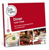 GiftForYou Diner voor twee