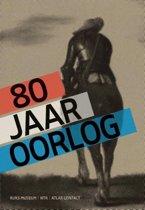 Boek cover 80 jaar oorlog van Gijs van der Ham (Paperback)
