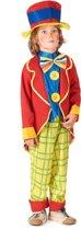 Clown pak voor jongens - Verkleedkleding - Maat 122/134