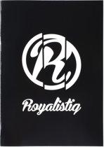 Royalistiq - Schrift A4 - geruit