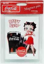 Koelkast Magneet Coca Cola Coke - Betty Boop