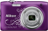 Nikon Coolpix A100 - Paars ornament