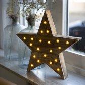 Kerstverlichting Ster LED 40cm