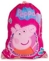 Peppa Pig gymtas, zwemtas, rugtas roze