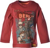 Moodstreet Jongensshirt - Retro Red - Maat 92