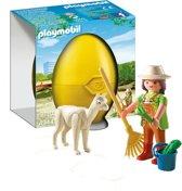 Playmobil Dierenverzorger met Alpaca - 4944