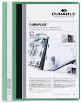 Durable personaliseerbare snelhechtmap Duraplus groen