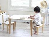 BeBoonz-Basic kindertafel en 2 stoeltjes