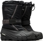 Sorel Youth Flurry Snowboots Junior Snowboots - Maat 38 - Unisex - zwart/grijs