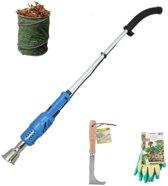 Güde Onkruidbrander voordeelset | Güde Elektrische Onkruidbrander UVH 2000-600 (2000 W) + voegenkrabber + tuinhandschoenen + tuinafvalzak
