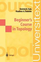 Beginner's Course in Topology