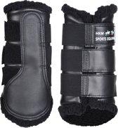 Beenbeschermers -Comfort- zwart/zwart XL
