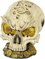 Spaarpot schedel 14 cm