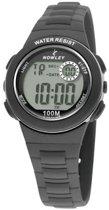 Nowley 8-6199-0-6 digitaal horloge 32 mm 100 meter zwart