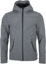 Superdry Mountaineer Softshell  Outdoorjas - Maat XL  - Mannen - grijs