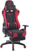 Clp Turbo XFM - Bureaustoel - Stof - zwart/rood