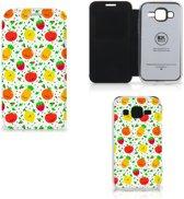 Samsung Galaxy Core Prime Book Cover Fruits