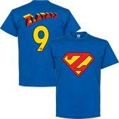 Zlatan 9 Superman T-Shirt - S