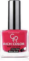 GOLDEN ROSE Rich Color zwarte nagellak 35, 10,5 ml.