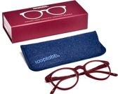 Looplabb. Lolita Leesbril - Rood - Sterkte: +1.50
