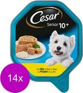 Cesar Senior 10+ - Rijst in Gelei - Hondenvoer - 14 x 150 g