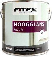 Fitex-Hoogglans Aqua-Ral 9001 Cremewit-2,5 liter