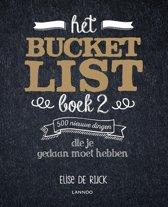 Boekomslag van 'Het Bucketlist Boek 2'