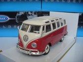 Maisto 1/25 VW Volkswagen T1 Microbus Samba Rood Wit