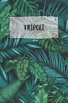 Tripoli: Ruled Travel Diary Notebook or Journey Journal - Lined Trip Pocketbook for Men and Women with Lines