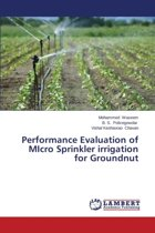 Performance Evaluation of Micro Sprinkler Irrigation for Groundnut