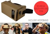 Google Cardboard - ervaar nu zelf het unieke 3D gevoel! Deze virtual reality VR bril is inclusief hoofdband