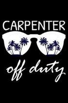 Carpenter Off Duty