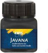 Javana zwarte textielverf 20ml – Voor licht en donker gekleurd textiel