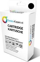 huismerk inkt cartridge voor Hp 901Xl zwart met niveau-indicator wit Label