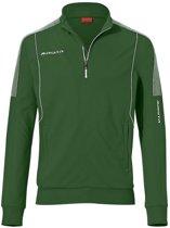 Masita Barca Zip-Sweater - Sweaters  - groen - S