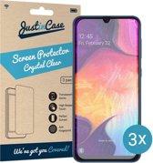 Just in Case Screen Protector Samsung Galaxy A50 - Crystal Clear - 3 stuks