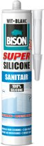 Bison Super Siliconenkit Sanitair Koker - Wit - 300 ml