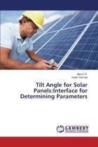Tilt Angle for Solar Panels