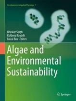 Algae and Environmental Sustainability