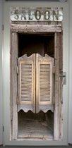 Deurposter 'Saloon' - deursticker 75x195 cm
