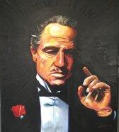 Godfather - Handgeschilderd - Kunst in opdracht