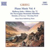 Grieg: Piano Music Vol 4 / Einar Steen-Nokleberg