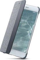 Huawei view flip cover - licht grijs - voor Huawei P10
