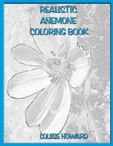 Realistic Anemone Coloring Book