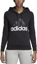 adidas Essentials Linear OH Fleece Sporttrui Dames - Black