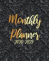 2020-2022 Monthly Planner: Art Black Mandala, 36 Months Appointment Calendar, Agenda Schedule Organizer Logbook, Business Planners and Journal Wi
