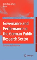 Governance and Performance in the German Public Research Sector