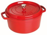 Staub Ronde Cocotte 28 cm - kersenrood