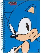Gosh! Designs Notitieboekje Sonic Classic A5 Blauw